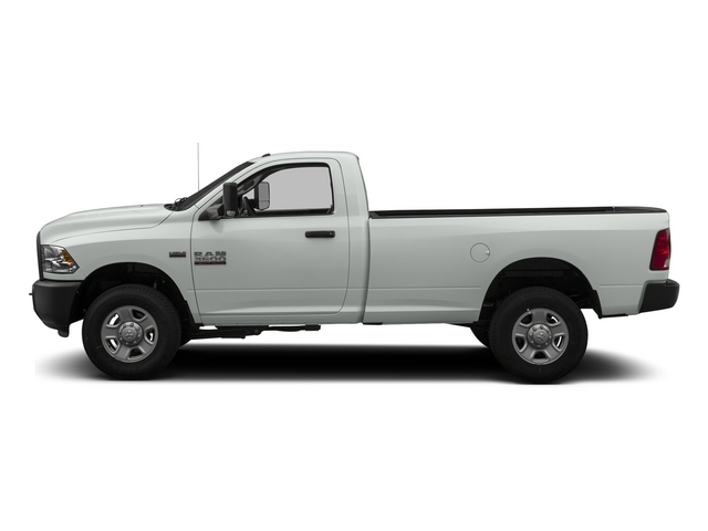 Bright White Clearcoat 2014 Ram 3500 Pictures 3500 Regular Cab SLT 4WD photos side view
