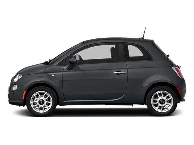 Granito Lucente (Granite Crystal) 2014 FIAT 500 Pictures 500 Hatchback 3D Sport I4 photos side view