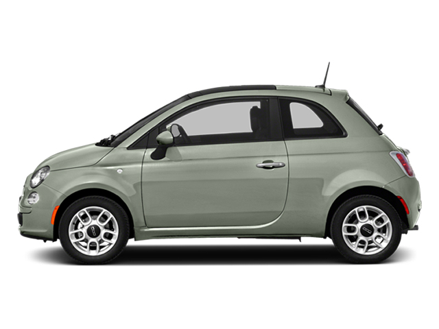 Verde Chiaro (Light Green) 2014 FIAT 500 Pictures 500 Hatchback 3D Sport I4 photos side view