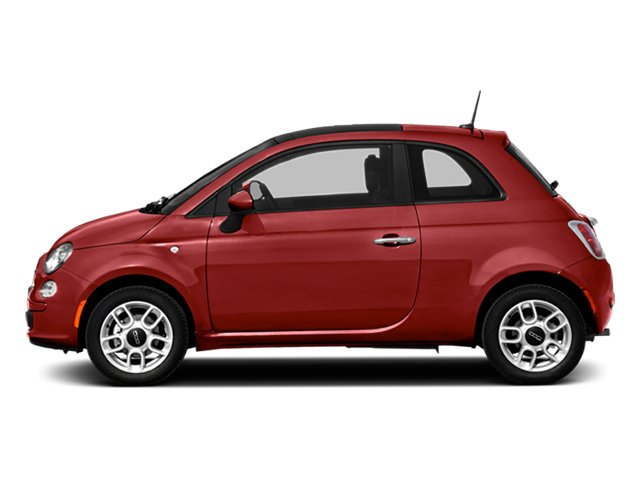 Rosso (Red) 2014 FIAT 500 Pictures 500 Hatchback 3D Sport I4 photos side view