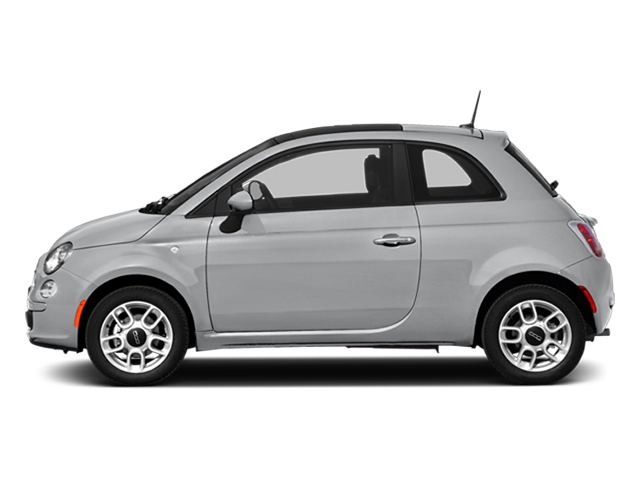 Argento (Silver) 2014 FIAT 500 Pictures 500 Hatchback 3D Sport I4 photos side view