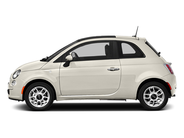 Bianco Perla (Pearl White Tri-Coat) 2014 FIAT 500 Pictures 500 Hatchback 3D Lounge I4 photos side view