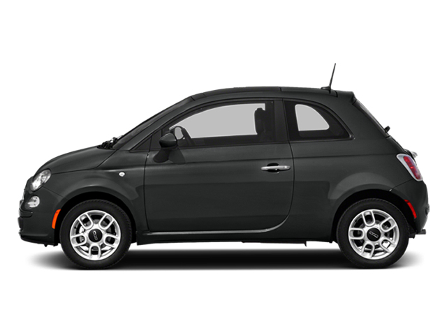 Nero Puro (Straight Black) 2014 FIAT 500 Pictures 500 Hatchback 3D Sport I4 photos side view