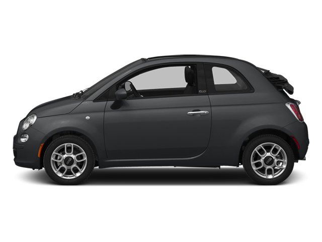 Granito Lucente (Granite Crystal) 2014 FIAT 500c Pictures 500c Convertible 2D Lounge I4 photos side view