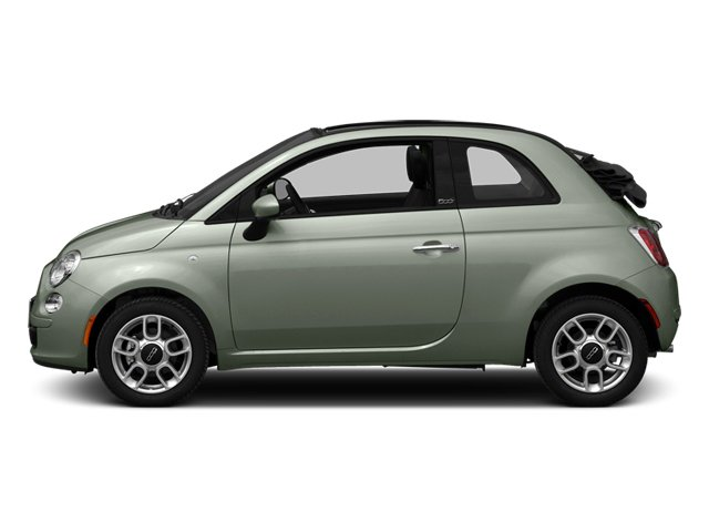 Verde Chiaro (Light Green) 2014 FIAT 500c Pictures 500c Convertible 2D Lounge I4 photos side view