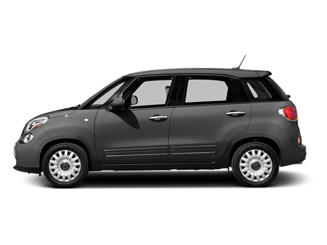 Grigio Scuro (Gray Metallic) 2014 FIAT 500L Pictures 500L Hatchback 5D L Lounge I4 Turbo photos side view