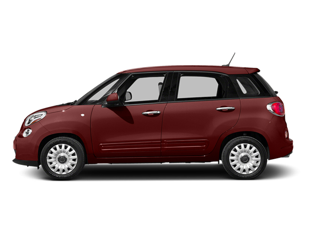 Rosso Perla (Deep Lava Red Pearl) 2014 FIAT 500L Pictures 500L Hatchback 5D L Lounge I4 Turbo photos side view