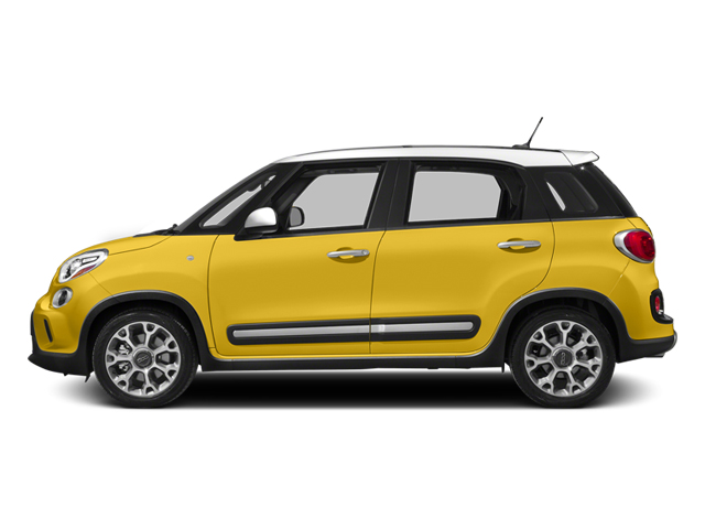 Giallo (Yellow) 2014 FIAT 500L Pictures 500L Hatchback 5D L Trekking I4 Turbo photos side view