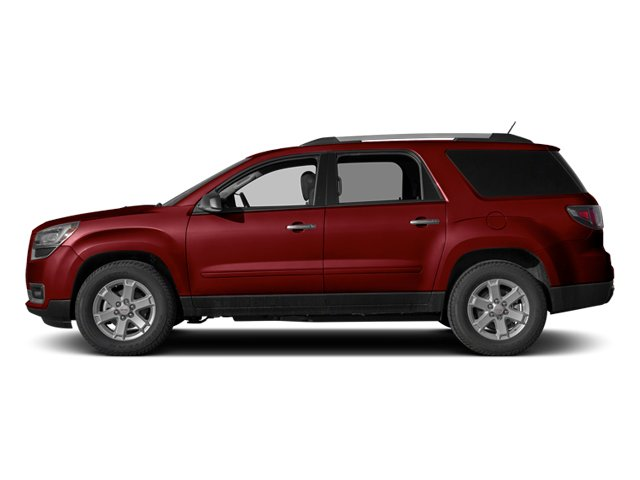 Crystal Red Tintcoat 2014 GMC Acadia Pictures Acadia Wagon 4D SLE 2WD photos side view