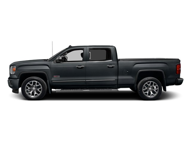 Stealth Gray Metallic 2014 GMC Sierra 1500 Pictures Sierra 1500 Crew Cab 2WD photos side view