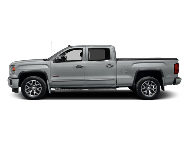 Quicksilver Metallic 2014 GMC Sierra 1500 Pictures Sierra 1500 Crew Cab 2WD photos side view