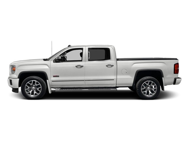 Summit White 2014 GMC Sierra 1500 Pictures Sierra 1500 Crew Cab 2WD photos side view