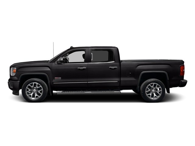 Onyx Black 2014 GMC Sierra 1500 Pictures Sierra 1500 Crew Cab 2WD photos side view