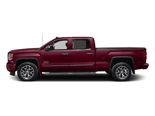 Sonoma Red Metallic 2014 GMC Sierra 1500 Pictures Sierra 1500 Crew Cab 2WD photos side view