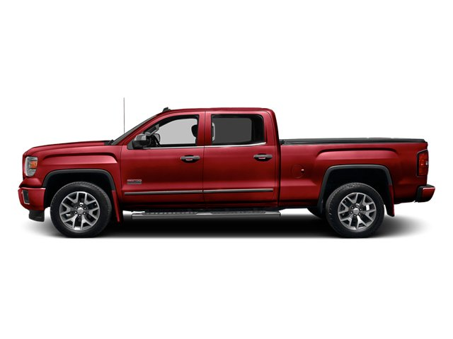 Fire Red 2014 GMC Sierra 1500 Pictures Sierra 1500 Crew Cab 2WD photos side view