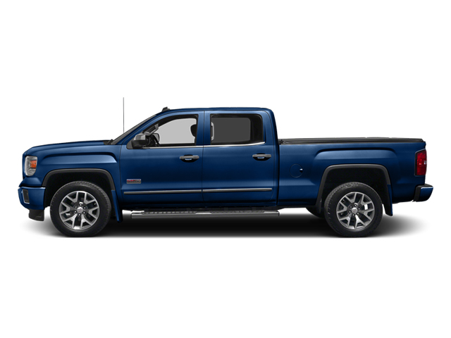 Cobalt Blue Metallic 2014 GMC Sierra 1500 Pictures Sierra 1500 Crew Cab 2WD photos side view