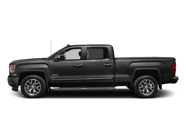 Iridium Metallic 2014 GMC Sierra 1500 Pictures Sierra 1500 Crew Cab 2WD photos side view
