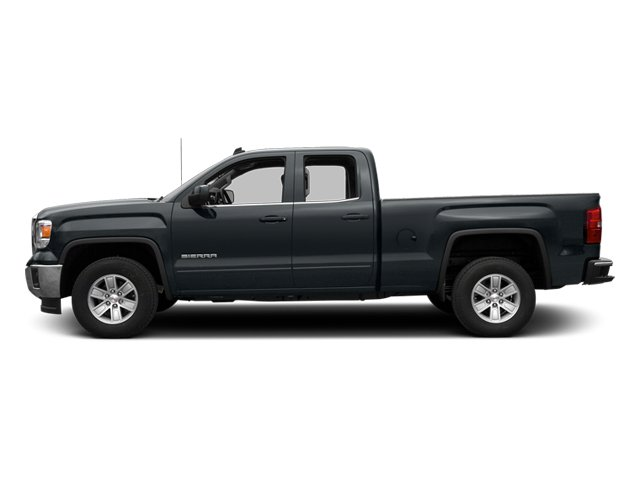 Stealth Gray Metallic 2014 GMC Sierra 1500 Pictures Sierra 1500 Extended Cab SLE 2WD photos side view