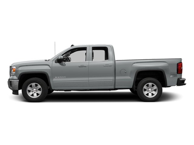 Quicksilver Metallic 2014 GMC Sierra 1500 Pictures Sierra 1500 Extended Cab SLE 2WD photos side view