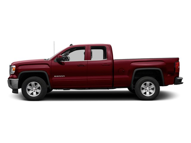 Sonoma Red Metallic 2014 GMC Sierra 1500 Pictures Sierra 1500 Extended Cab SLE 2WD photos side view