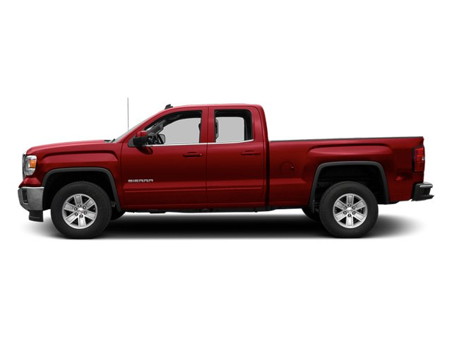 Fire Red 2014 GMC Sierra 1500 Pictures Sierra 1500 Extended Cab SLE 2WD photos side view