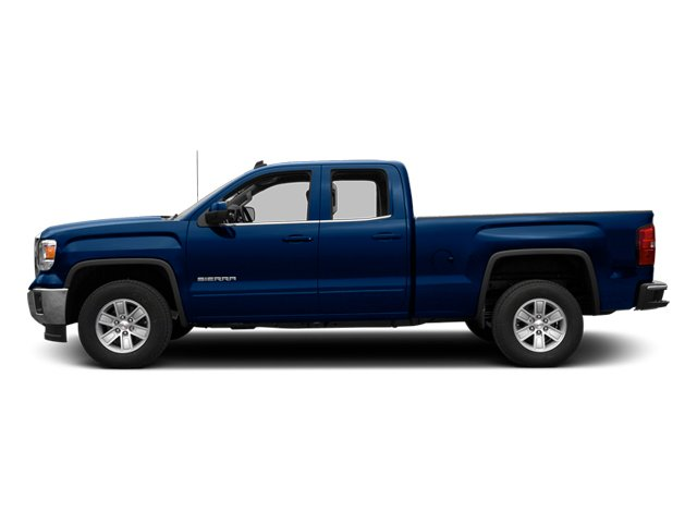 Cobalt Blue Metallic 2014 GMC Sierra 1500 Pictures Sierra 1500 Extended Cab SLE 2WD photos side view