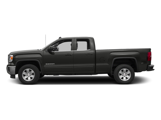 Iridium Metallic 2014 GMC Sierra 1500 Pictures Sierra 1500 Extended Cab SLE 2WD photos side view