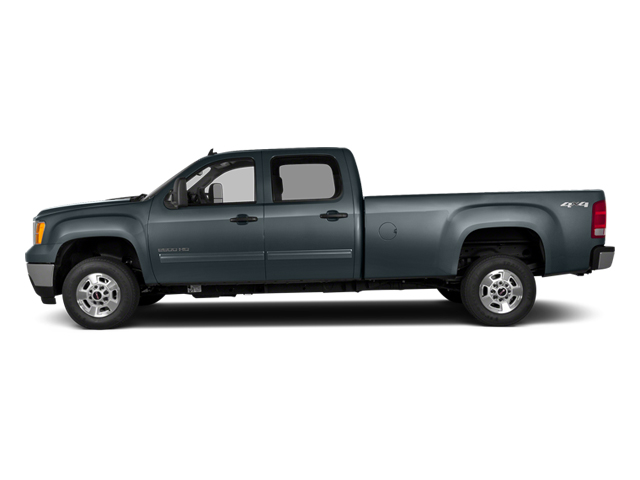 Stealth Gray Metallic 2014 GMC Sierra 2500HD Pictures Sierra 2500HD Crew Cab SLT 2WD photos side view