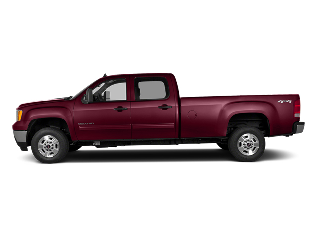Sonoma Red Metallic 2014 GMC Sierra 2500HD Pictures Sierra 2500HD Crew Cab SLT 2WD photos side view
