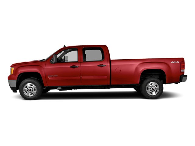 Fire Red 2014 GMC Sierra 2500HD Pictures Sierra 2500HD Crew Cab SLT 2WD photos side view