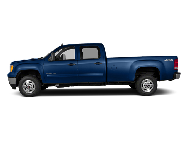 Heritage Blue Metallic 2014 GMC Sierra 2500HD Pictures Sierra 2500HD Crew Cab SLT 2WD photos side view