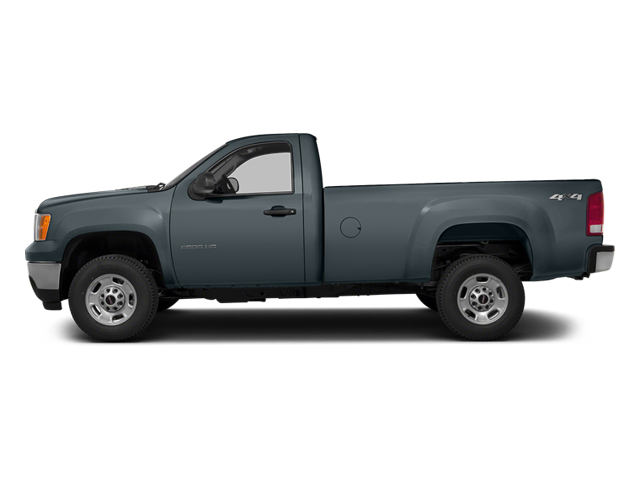 Stealth Gray Metallic 2014 GMC Sierra 3500HD Pictures Sierra 3500HD Regular Cab SLE 4WD photos side view