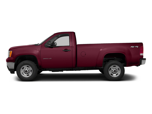 Sonoma Red Metallic 2014 GMC Sierra 3500HD Pictures Sierra 3500HD Regular Cab SLE 4WD photos side view