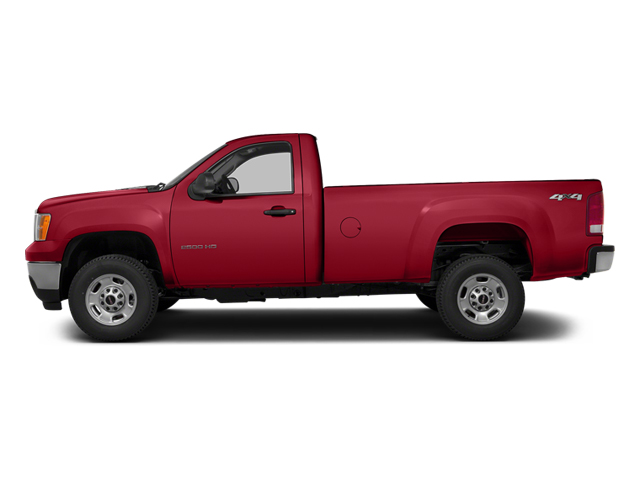Fire Red 2014 GMC Sierra 3500HD Pictures Sierra 3500HD Regular Cab SLE 4WD photos side view