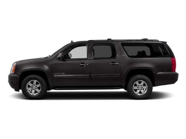 Onyx Black 2014 GMC Yukon XL Pictures Yukon XL Utility K1500 SLE 4WD photos side view