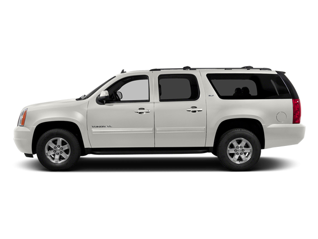 Summit White 2014 GMC Yukon XL Pictures Yukon XL Utility K1500 SLE 4WD photos side view