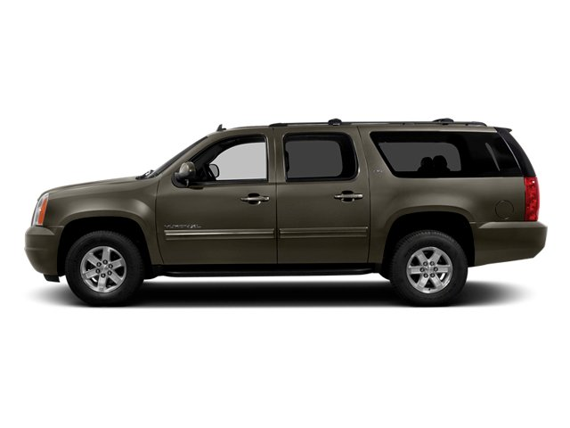 Mocha Steel Metallic 2014 GMC Yukon XL Pictures Yukon XL Utility K1500 SLE 4WD photos side view