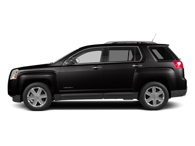 Carbon Black Metallic 2014 GMC Terrain Pictures Terrain Utility 4D SLT AWD photos side view