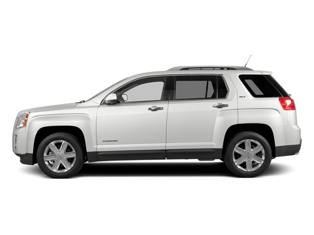 Summit White 2014 GMC Terrain Pictures Terrain Utility 4D SLT AWD photos side view