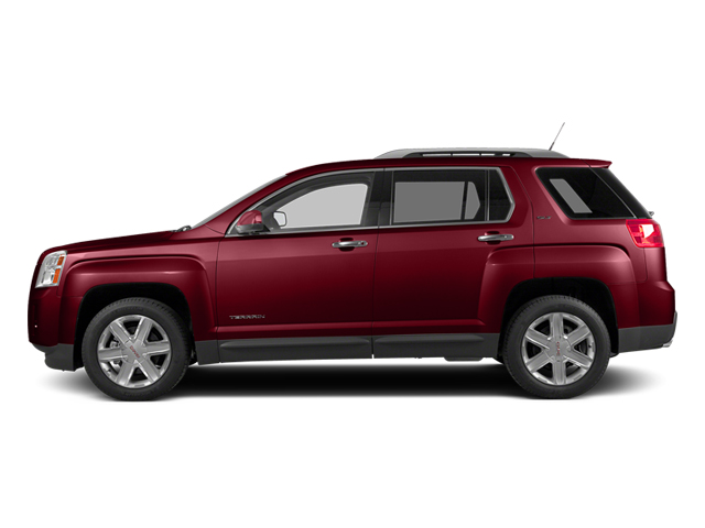 Crystal Red Tintcoat 2014 GMC Terrain Pictures Terrain Utility 4D SLT AWD photos side view