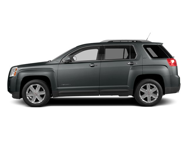 Ashen Gray Metallic 2014 GMC Terrain Pictures Terrain Utility 4D SLT AWD photos side view