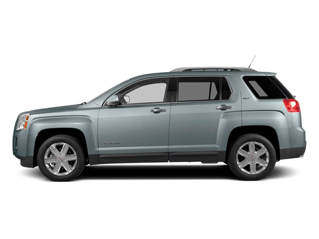 Silver Sky Metallic 2014 GMC Terrain Pictures Terrain Utility 4D SLT AWD photos side view