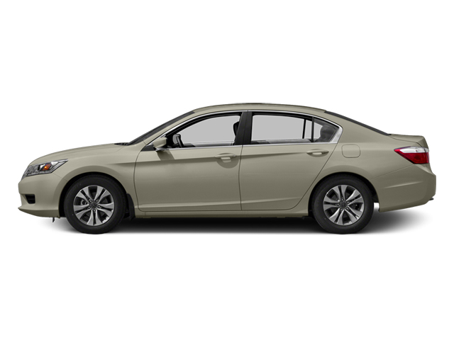 Champagne Frost Pearl 2014 Honda Accord Sedan Pictures Accord Sedan 4D LX I4 photos side view