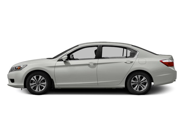 White Orchid Pearl 2014 Honda Accord Sedan Pictures Accord Sedan 4D LX I4 photos side view