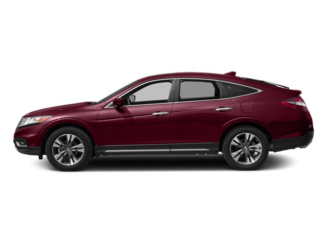 Basque Red Pearl II 2014 Honda Crosstour Pictures Crosstour Utility 4D EX-L 2WD V6 photos side view
