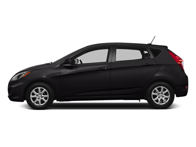 Ultra Black Pearl 2014 Hyundai Accent Pictures Accent Hatchback 5D GS I4 photos side view