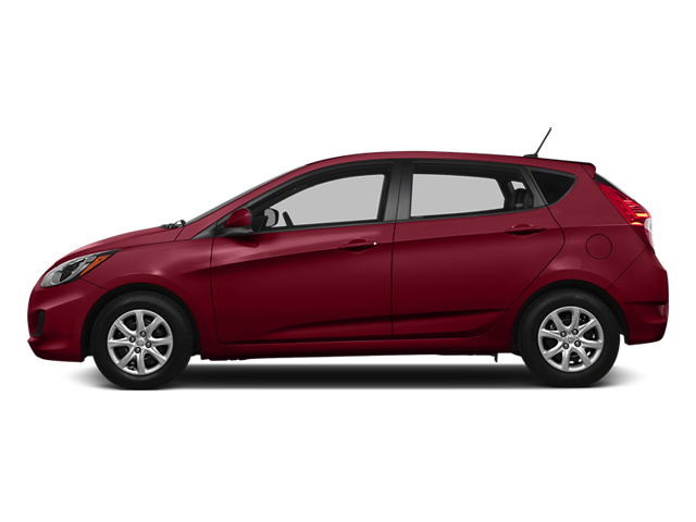 Boston Red Pearl 2014 Hyundai Accent Pictures Accent Hatchback 5D GS I4 photos side view
