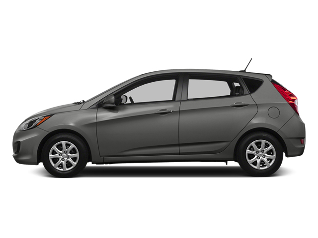 Ironman Silver Metallic 2014 Hyundai Accent Pictures Accent Hatchback 5D GS I4 photos side view