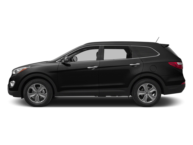 Becketts Black 2014 Hyundai Santa Fe Pictures Santa Fe Utility 4D GLS Technology AWD photos side view