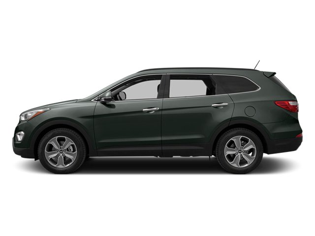 Hampton Green Pearl 2014 Hyundai Santa Fe Pictures Santa Fe Utility 4D GLS Technology AWD photos side view
